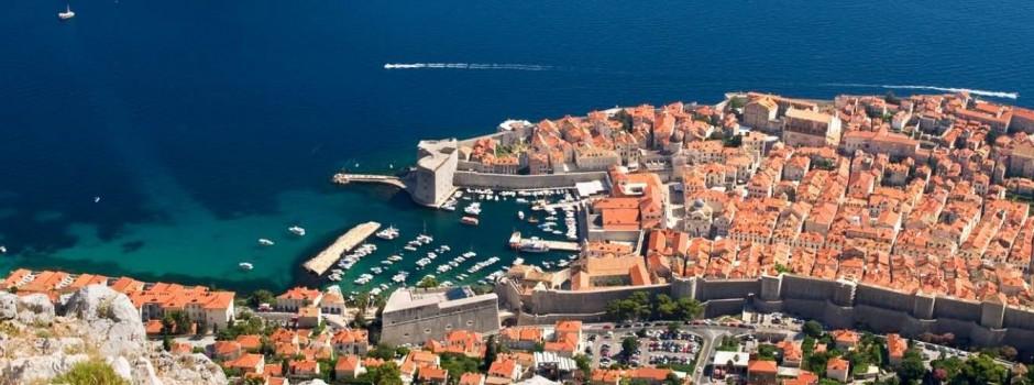 Dubrovnik Srđ view